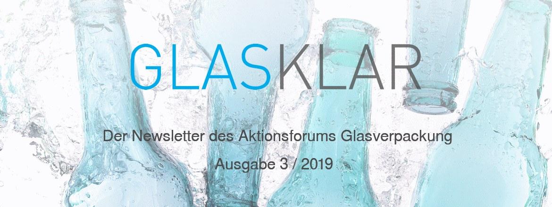 GLASKLAR - Der Newsletter des Aktionsforums Glasverpackung